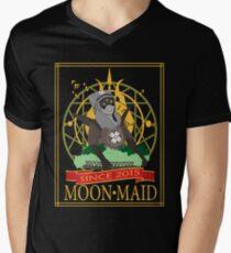 MoonMaid Raisins Mens V-Neck T-Shirt