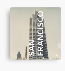 San Francisco (San Francisco) Canvas Print