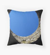 Looking out of the Jam Jar Throw Pillow