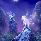 Luminescent Fairy & Dragon Art by Rachel Anderson