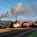 4 Trains by Dave Hudspeth