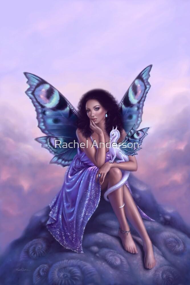 Evanescent Fairy & Dragon Art by Rachel Anderson