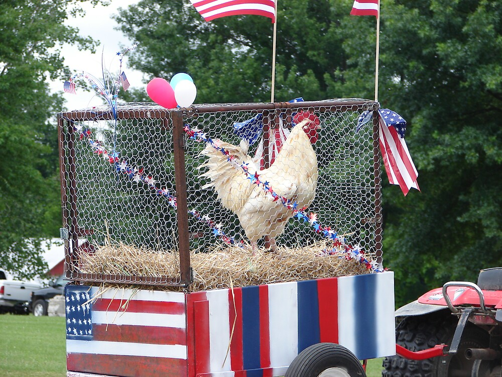 Which came first the Chicken or the Parade? by inventor