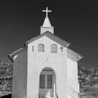 San Jose Church- Cuchillo by Larry Costales