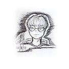 Sketch 033 - #Megane by liajung