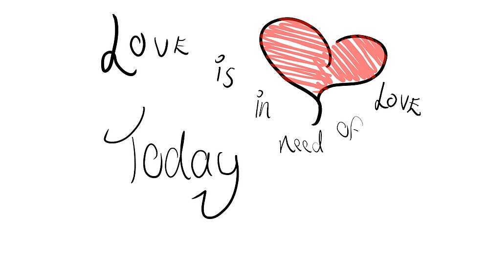 love is in need of love by jnwa