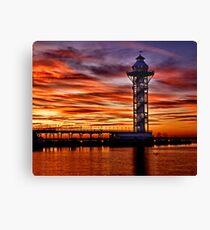 Bicentennial Tower at Dobbins Landing - Erie, PA Canvas Print