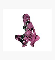 Nicki Minaj Anaconda Pink Snake Skin Photographic Print