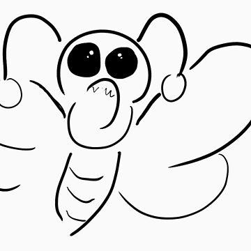 butterfly by jnwa