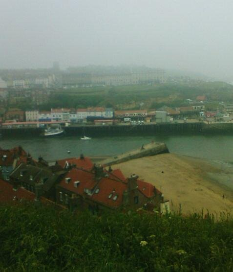 Whitby view by lyndseymarie