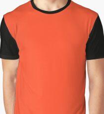 Neon Color - Light Brilliant Scarlet Graphic T-Shirt