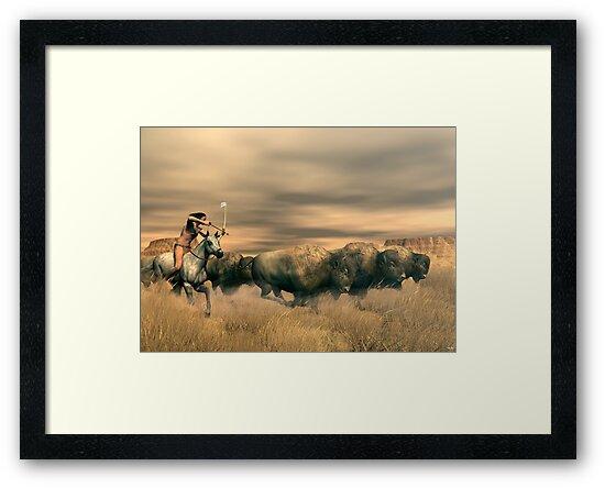 Buffalo Hunter by Walter Colvin