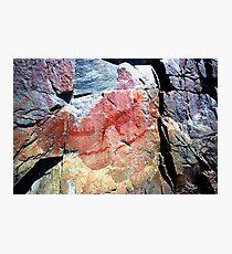 Ojibwa Pictographs, Circa 1600 AD Photographic Print