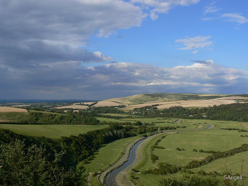 Cuckmere Valley by SAngell