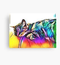 Kitty Kat. Canvas Print