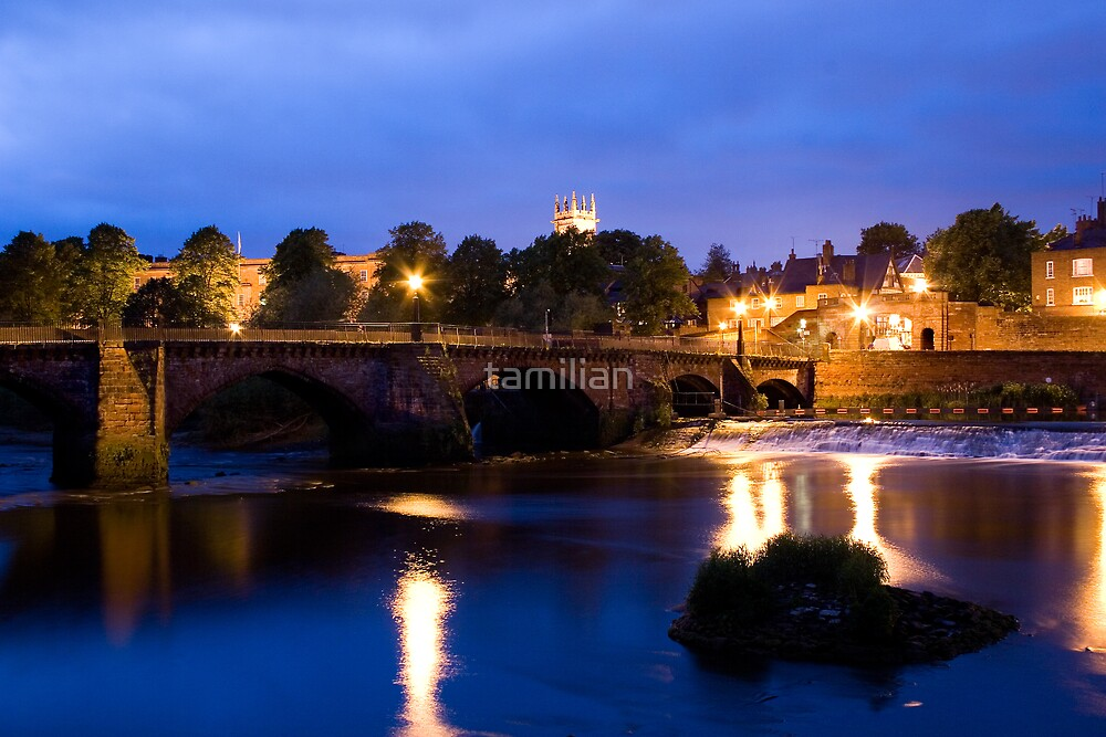 Chester Old Bridge by tamilian