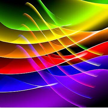 Rainbow Waves by Enagel