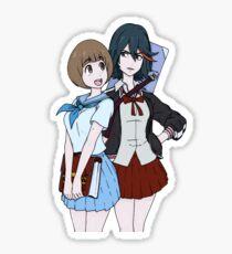 Mako and Ryuko Sticker