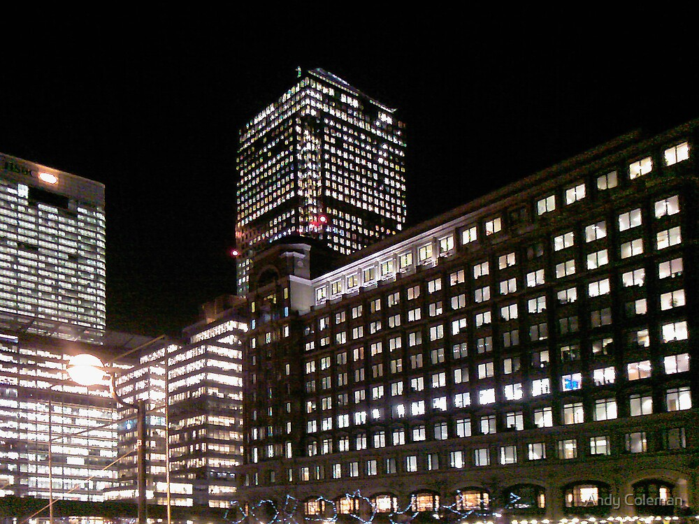 Canary Wharf by Andy Coleman