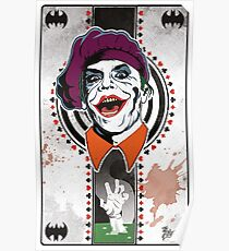 Joker Playing Card Poster