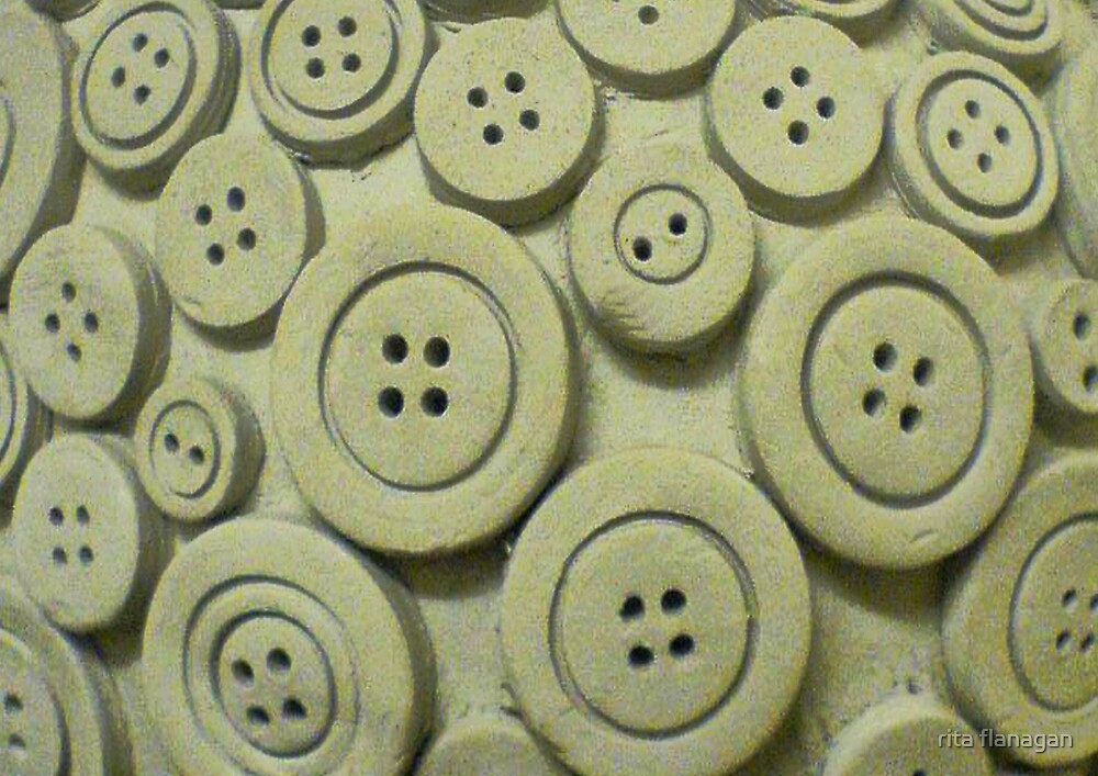 Clay buttons by rita flanagan