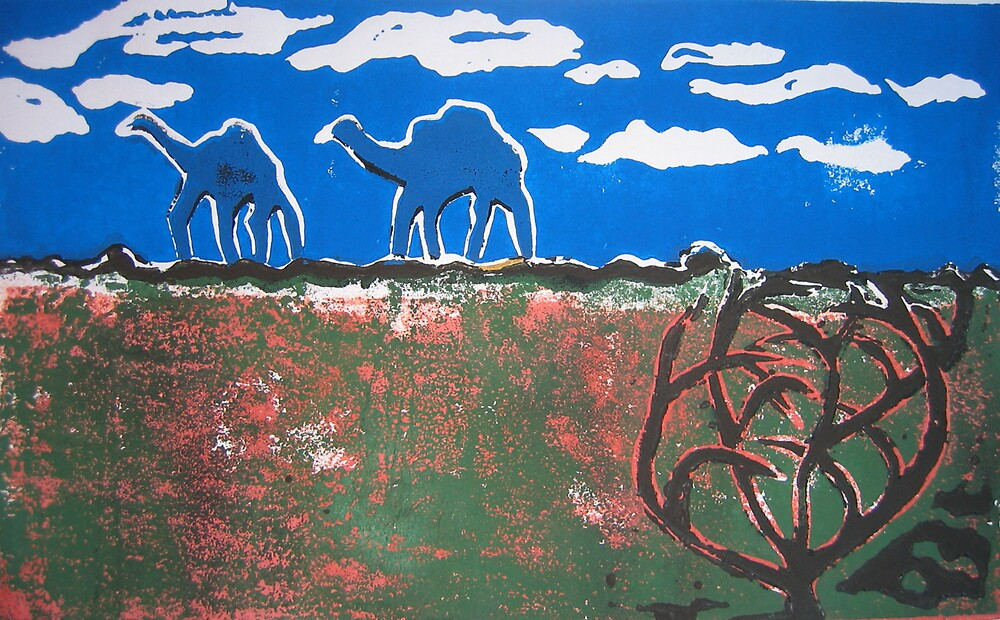 Ephemeral camels on the Canning by Pip Williams