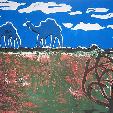 Ephemeral camels on the Canning by pipwill