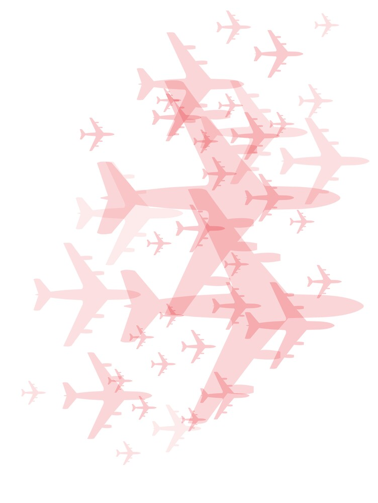 Pink Planes by Tom Gooden