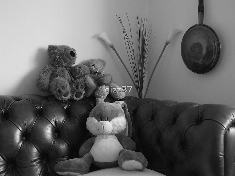teddy bear rest by dizz37