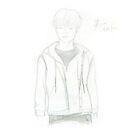 Sketch 042 - MonstaX Minhyuk by liajung