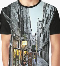 Venice Back Street Graphic T-Shirt