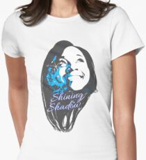 Shining Shadow Womens Fitted T-Shirt