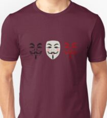 Disobedience mask Unisex T-Shirt