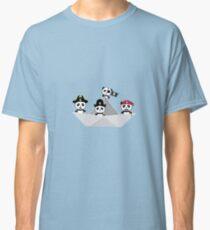 Panda Pirates Paperboat Crew  R6lca Classic T-Shirt