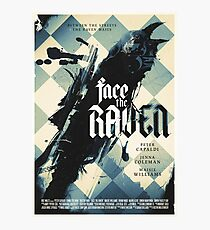 Face The Raven Photographic Print