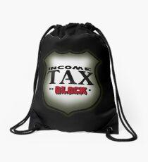 So Eighties Income Tax Drawstring Bag