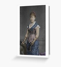 Patriotic Corset Greeting Card