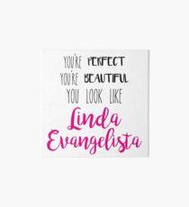 Look Like Linda I Art Board