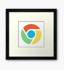 Google Chrome Framed Print