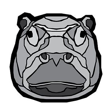 Geometric Hippo by sherman101