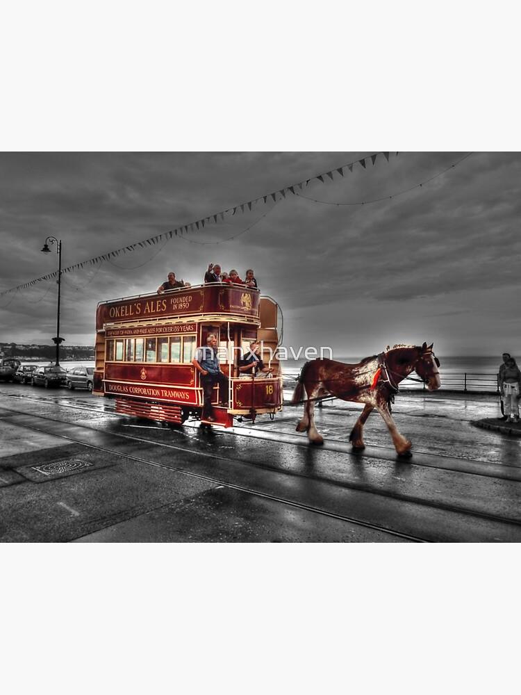 Isle of Man Horse Tram by manxhaven