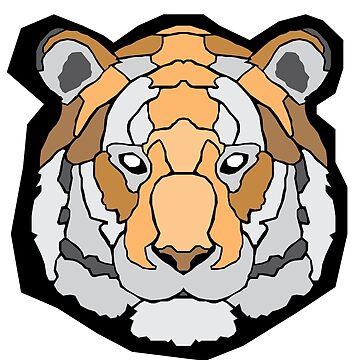 Geometric Tiger by sherman101