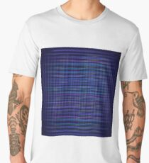 abstract blue background Men's Premium T-Shirt