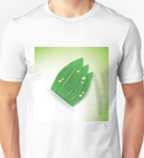 green plant and drops Unisex T-Shirt