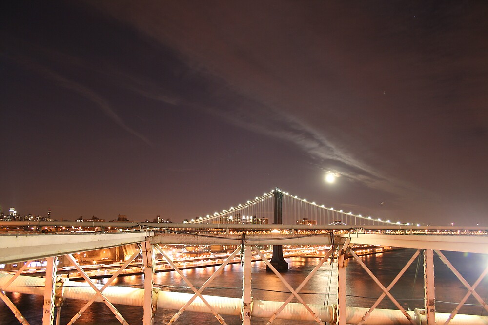 View from Brooklyn Bridge by Sreejith Kaimal
