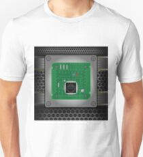 CPU on the motherboard Unisex T-Shirt