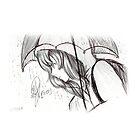 Sketch 005 - #Rain by liajung