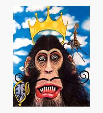 Dali goes Surrealist Ape Photographic Print