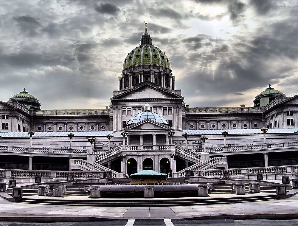 Pennsylvania State Capitol Building by scannermom