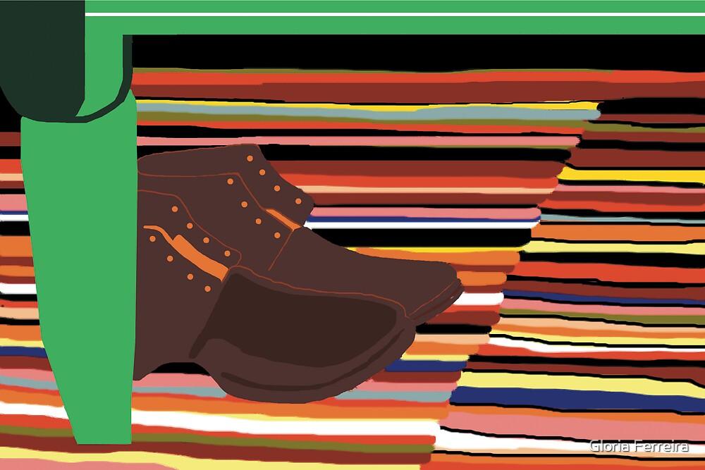 Shaker Shoe by Gloria Ferreira